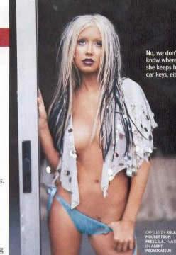 Fotos de christina aguilera en bikini