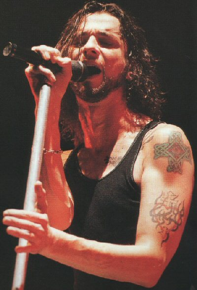 Celebrity Tattoos - Dave Gahan - Left Arm