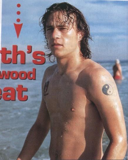 Celebrity Tattoos Heath Ledger Ying Yiang