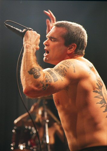 Henry Rollins Tattoo