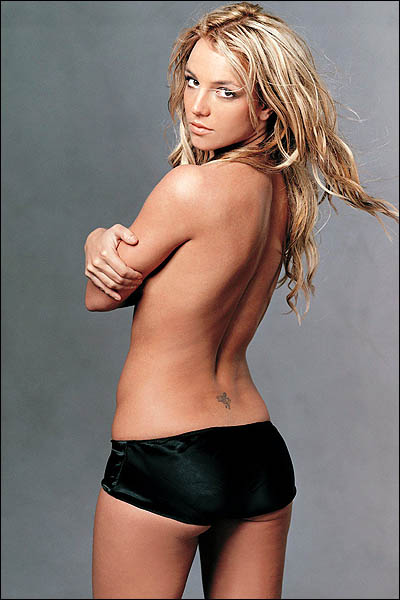 Britney Spears Fairy Tattoos