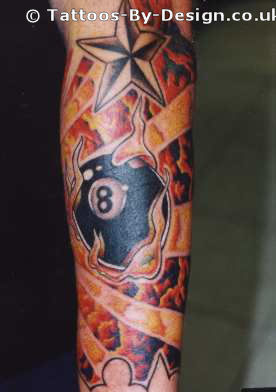 Tattoo 8 Ball