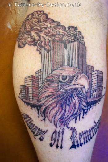 Tattoo of 911