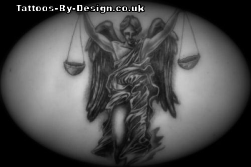 Tattoo Designs Libra
