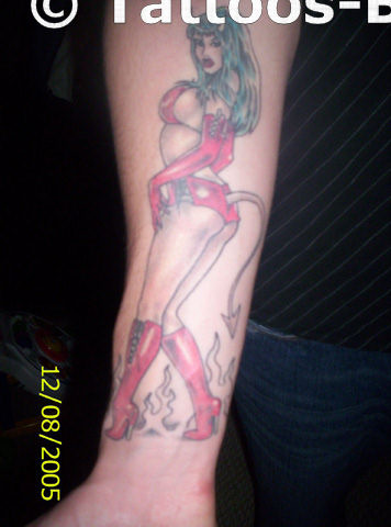 Bad girl tattoo for My tattoo girls