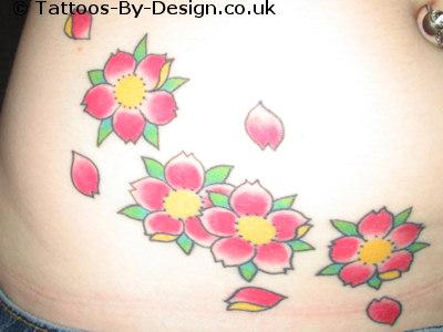 Brandis cherry blossom tattoo