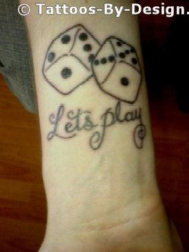 4 5 6 dice tattoo ideas