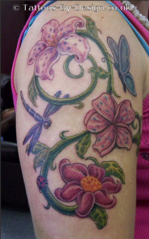 Flower garden plants pictures to pin on pinterest tattooskid for Garden tattoos designs