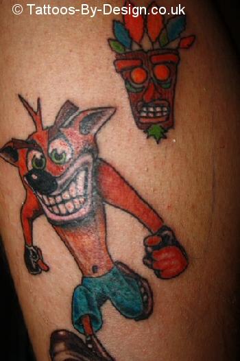 My Crash Bandicoot Tattoo Tattoo