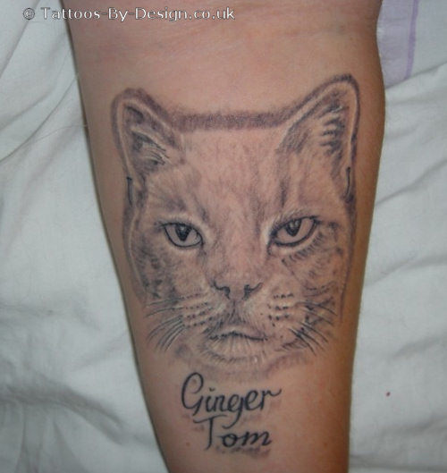 My Mate Ginger Tom Tattoo