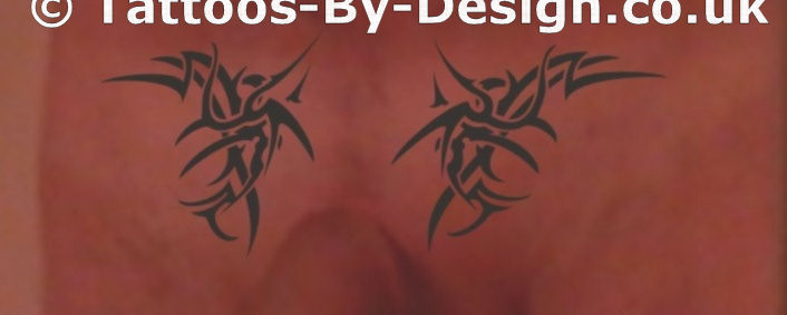 Pubic Area Tattoo Designs