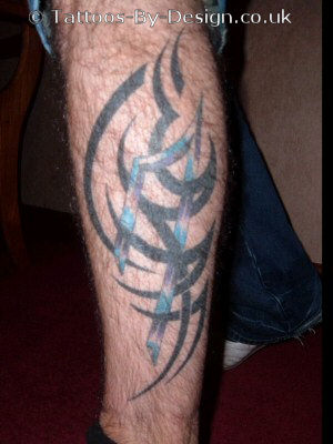 Tribal Leg Tattoo Gallery