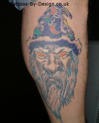 WIZZARD Tattoo