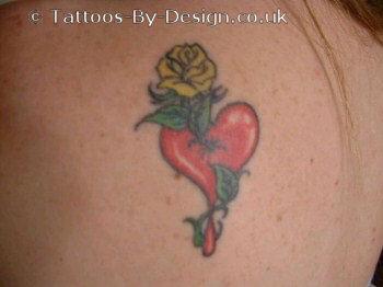 blood rose tattoo. Black Bedroom Furniture Sets. Home Design Ideas
