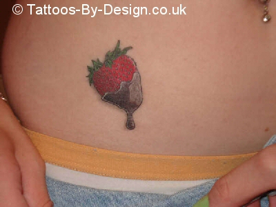 chocolate covered strawberry tattoo tattoo. Black Bedroom Furniture Sets. Home Design Ideas