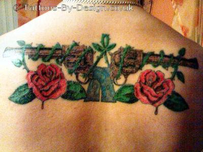 guns n roses logo tattoo. Black Bedroom Furniture Sets. Home Design Ideas