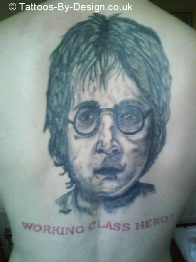 john lennon tattoo. Black Bedroom Furniture Sets. Home Design Ideas