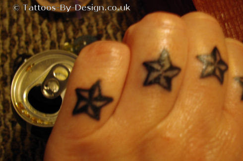 my fancy fist stars tattoo. Black Bedroom Furniture Sets. Home Design Ideas