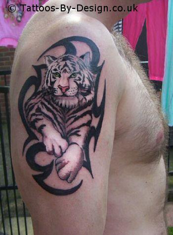 snow tiger tattoo. Black Bedroom Furniture Sets. Home Design Ideas