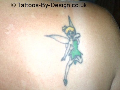 tinkerbell tattoo. Black Bedroom Furniture Sets. Home Design Ideas